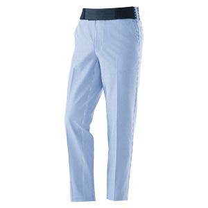 MIDORI PF1 サッカーストレッチパンツ GMCS024 3000 ブルー×ホワイト