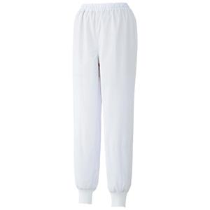 白衣 女子スラックス WHS18W 下 ホワイト