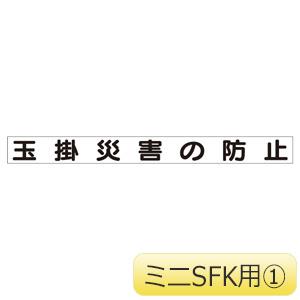 SFKミニMG 313−651 玉掛災害の防止