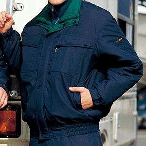 帯電防止 防寒ブルゾン SE1029B 上 ネイビー