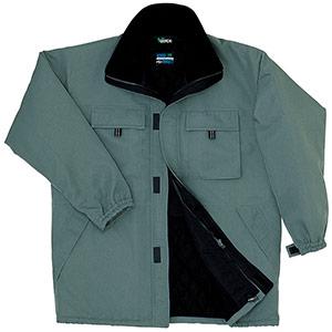 グッドバリュー 防寒服コート M3126 上 グリーン