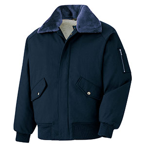 綿パイロットジャンパー PJ17 上 紺