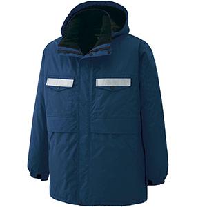 リサイクル 防水帯電防止 防寒コート RC2007 上 ネイビー