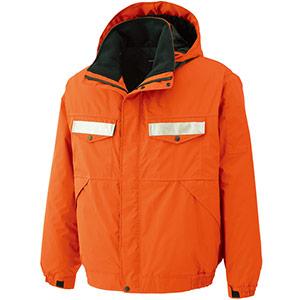 リサイクル 防水帯電防止防寒ブルゾン RC2014 上 オレンジ