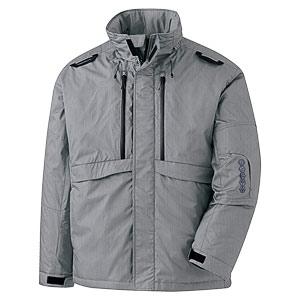 ベルデクセル ハーネス対応防寒ジャケット VE2051上 杢グレー
