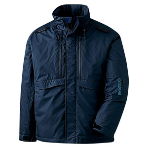 ベルデクセル ハーネス対応防寒ジャケット VE2057上 ネイビー