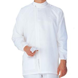 クリーンウェア 男女共用 上衣 S3310W 上 ホワイト