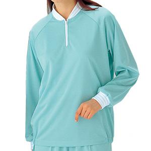 クリーンウェア 男女共用 ミドラー上衣 MD5000 上 ブルー