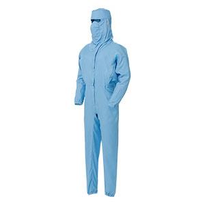 ベルデクセル×エレパスU フード・マスク一体型つなぎ服  VEYS140B ブルー