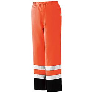 レインベルデN(R) ゴアテックス 高視認仕様 下衣 蛍光オレンジ
