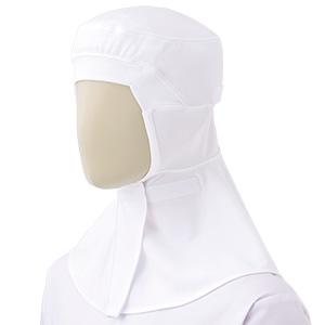 フード (ツバ無・マスク掛け付) SH110W ホワイト