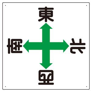 東西南北標識 327−14