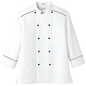 速乾 コック シャツ FB4504U−15 ホワイト