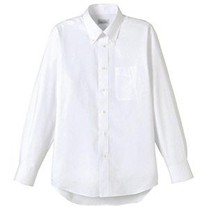 ユニセックス 長袖シャツ FB4510U−15 ホワイト