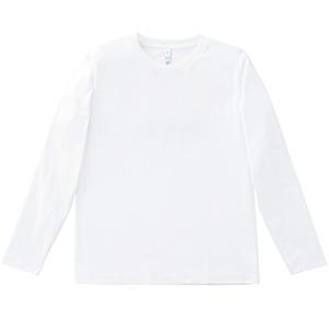 5.3オンスユーロロングTシャツ MS1605−15 ホワイト