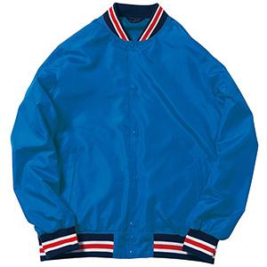 スタジアムジャケット MJ0069−7 ロイヤルブルー