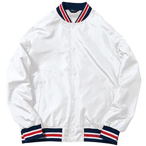 スタジアムジャケット MJ0069−15 ホワイト