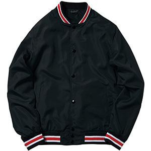スタジアムジャケット MJ0069−16 ブラック