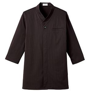 和衿ニットシャツ FB4533U−5 ブラウン