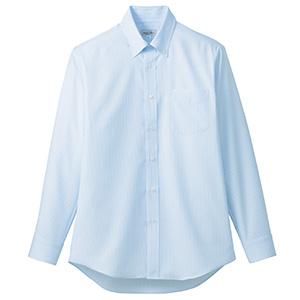 吸汗速乾 メンズ 長袖シャツ FB5035M−6 ブルー