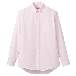 吸汗速乾 メンズ 長袖シャツ FB5035M−9 ピンク