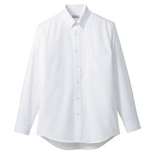 吸汗速乾 メンズ 長袖シャツ FB5035M−15 ホワイト