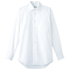 メンズ ストレッチ長袖シャツ FB5037M−15 ホワイト