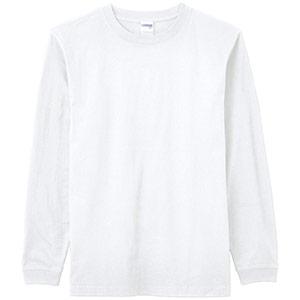 6.2オンス ヘビーウェイトロングスリープTシャツ MS1607−115 オフホワイト
