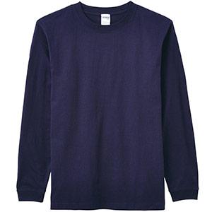 6.2オンスヘビーウェイトロングTシャツ MS1607−8 ネイビー