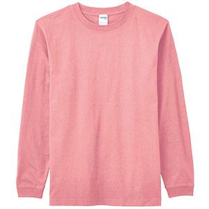 6.2オンスヘビーウェイトロングTシャツ MS1607−39 ミントピンク