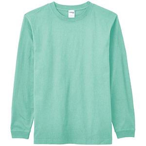 6.2オンスヘビーウェイトロングTシャツ MS1607−27 ミントブルー