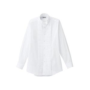 メンズ ピンタックウイングシャツ FB5045M−15 ホワイト