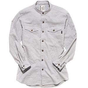 メンズスタンドシャツ RS4601−2 サンドグレー