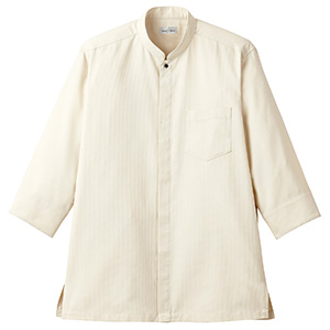 吸汗速乾 スタンドカラーシャツ FB4556U−1 ベージュ