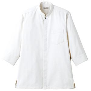 吸汗速乾 スタンドカラーシャツ FB4556U−15 ホワイト