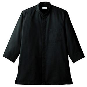 吸汗速乾 スタンドカラーシャツ FB4556U−16 ブラック