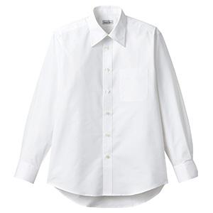 ユニセックス長袖シャツ FB4561U−15 ホワイト