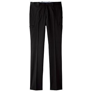 メンズサイドポケットパンツ FP6004M−16 ブラック