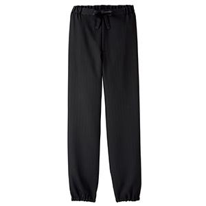 作務衣 下衣 FP6702U−16 ブラック