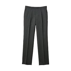 メンズ 裾上げらくらくスラックス ウール混 FP6026M−2 グレー