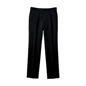 メンズ 裾上げらくらくスラックス ウール混 FP6026M−16 ブラック
