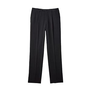 メンズ 裾上げらくらくスラックス ポリエステル100% FP6027M−2 チャコールグレー