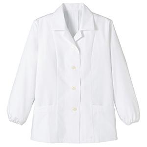 レディース 長袖 和コート FJ0302L−15 ホワイト