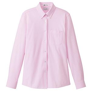 レディス ニット吸汗速乾 長袖ブラウス FB4021L−9 ピンク