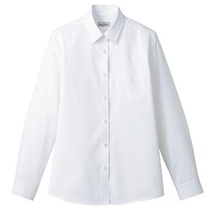 吸汗速乾 レディス 長袖ブラウス FB4030L−15 ホワイト