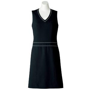 SOLOTEX(R) CREARTA(R) ジャンパースカート AO5800−16 ブラック (21号)