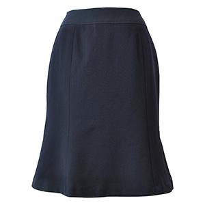 Excella マーメイドスカート AS2256−8 ネイビー (5〜19号)