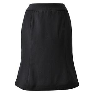 Excella マーメイドスカート AS2256−16 ブラック (5〜19号)