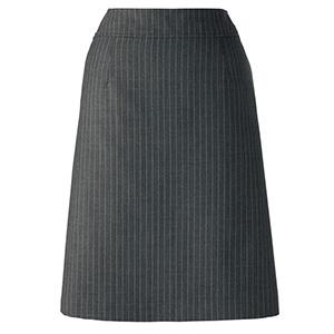 Vega AS2270−12 Aラインスカート グレイ×パープル (5〜21)