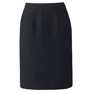 Lien AS2285−28 タイトスカート ネイビー×グレイ (5〜21)